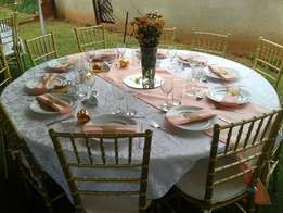 wedding decor, catering, kiddies parties, baby showers, bridal showers