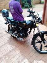 Motorcycle for sale almost brand you less than 1000km driven