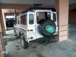 A 2004 Land Rover Defender