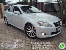 Lexus IS 250 EX - top of the range option.