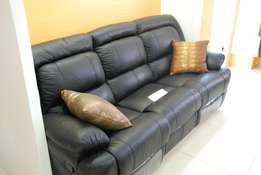 Offer Offer 4 Seater Pure Leather Recliner at 329,000
