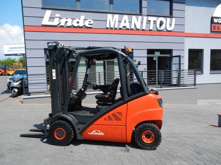 Linde H25T Side shift - 2011