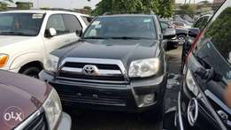 Toyota 4runner with three row seats