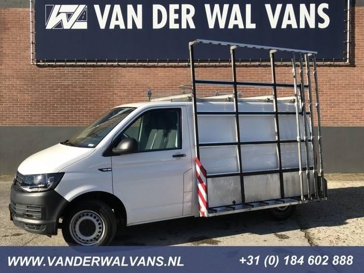 Volkswagen Transporter 2.0TDI L1H1 Glasresteel, Airco, Navi, Trekhaak - 2017
