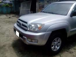 Toyota 4 Runner Jeep 2005