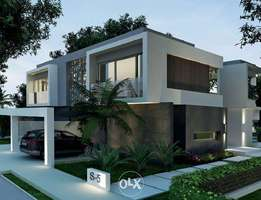 stand alone villa for sale in Badya with 10years equal installments Z4