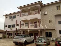 Service two bedroom apartment for rent at spintex