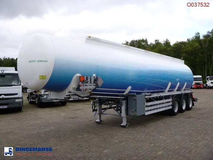 Feldbinder Fuel tank alu 42 m3 / 6 comp + pump - 2008