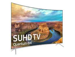 """Samsung UA55KS9500 55"""" SUHD CURVED tv licence required ,brand new"""