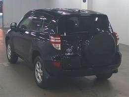 KCN..2010 Model 4wd Toyota Rav4 Black with Back Spare Tyre