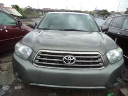 Newly arrived foreign used 2010 Toyota highlander for sale