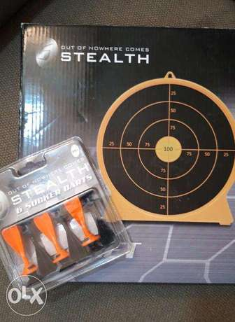 New Petron Stealth Dartboard and Darts