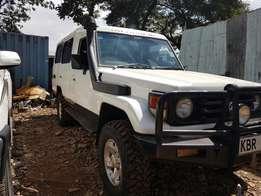 Toyata land cruiser hardtop 5 doors