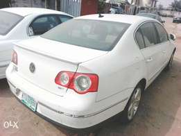Volkswagen Passat sport but smoking engine