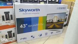 "Skyworth 43"" smart tv"