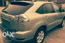Very Clean and neat Lexus RX full option