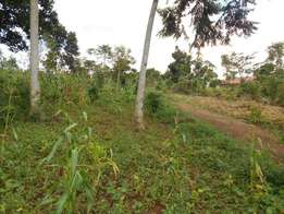 Quick sale of 30x100ft in Bukerere at only 8million