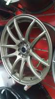 F power alloy wheels 18×114.3/100(Front 8j Rear 10j)