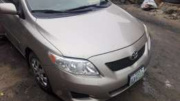 Toyota Corolla 2009 Bought Brand-New