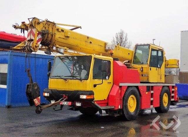 Liebherr Ltm 1030/2 Mobile Crane 4x4 Mobile Crane - Machinery Class 1 - 2001