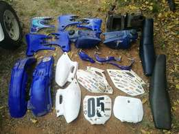Yamaha YZ/YZF/WR 250/400/426/450 Cosmetic spares for sale