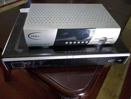 Dstv decoder with dish, quick sale.