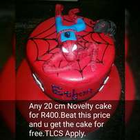 Cakes to say wow!Figurines and decor for all cupcakes and cakes.