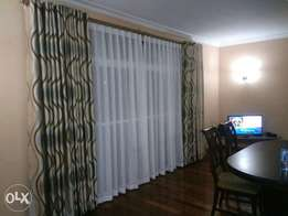 Professional Curtains and blinds installation.