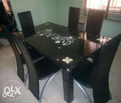 WZx Imported Six-Sitter Dining Table