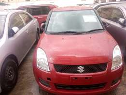 Suzuki swift Red 1.3 litre engine size Number ready