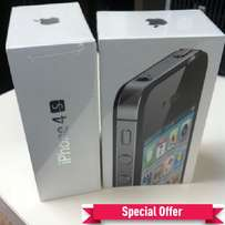 Apple iPhone 4S NEW- 64GB Memory -Offers+ Free Glass Protector
