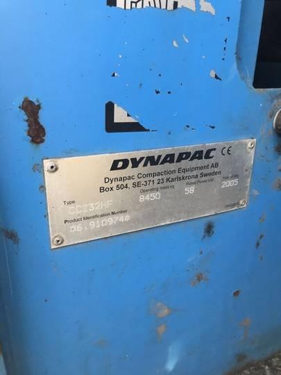 Dynapac CC232HF - 2005