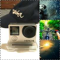 GoPro Hero4 Silver - Great Condition