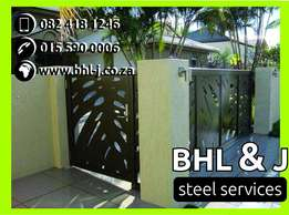 Personalized driveway Gates and fencing