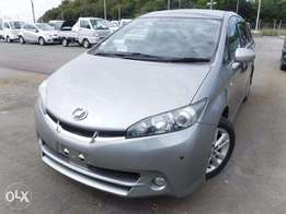 Toyota Wish 2010 model grey colour new shape excellent condition