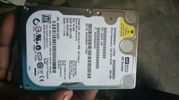 WD External Hard Drive. Slightly used.