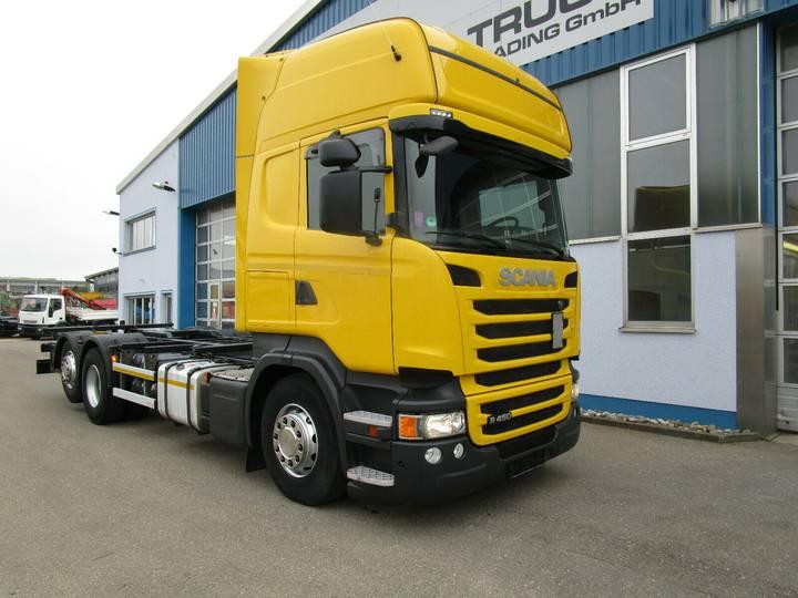 Scania R 450 LB 6x2 MNB BDF 7.15-7.45m Topline Retarder - 2014