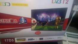 17 inch digital led TV, New with warranty.