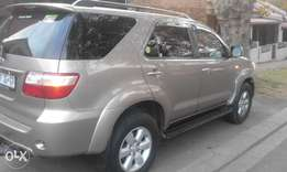 Toyota fortuner d4d at Low price4x4