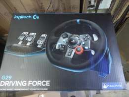 Logitech G29 driving force racing for PS 3,ps 4,pc