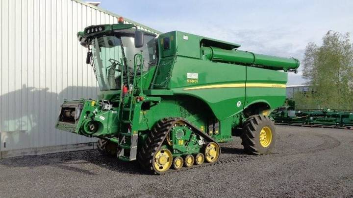 John Deere s 690 # 12m -  ready for work - 2014