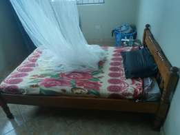 4x6 bed with matress