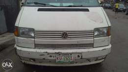 Clean 2000 Volkswagen Transporter Bus still with Factory Seats