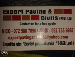 Expert paving and civils (PTY) LTD