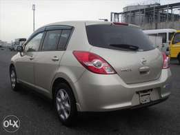 Nissan Tiida Hatchback KCN 1.5L Beige Colour Fully loaded On Offer