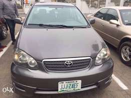 Used Toyota Corolla S 2005 Gray, Interior: gray, Cylinder: 4plugs