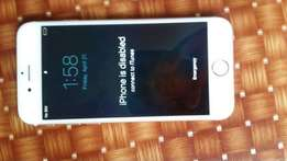 Apple iphone 6s,64gb. iphone disabled
