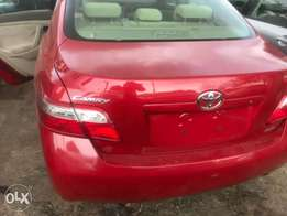 cheap neat Tokunbor Toyota Camry muscle red