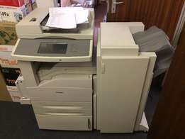 Office Lexmark All in One Printer including Finisher