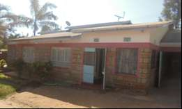 Bungalow 3 Bedroom with garage attached and residential houses